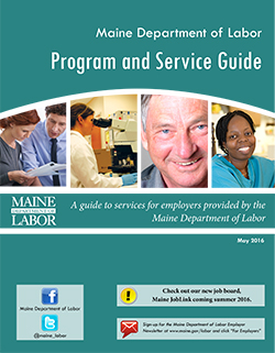 This is a graphic of the program and service guide